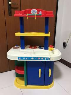 Pretend Play Kids Kitchen