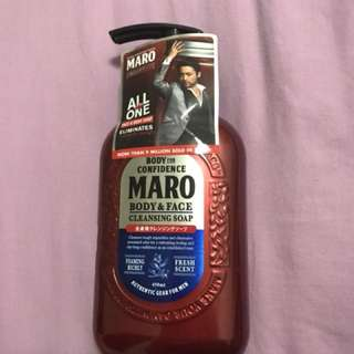 Maro Body & Face Cleansing Soap