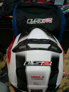 LS2 HELMET FF392 CHRONO JUNIOR
