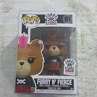 Legit Brand New With Box Funko Pop Furry N Fierce Toy Figure Hot Topic Build A Bear Exclusive