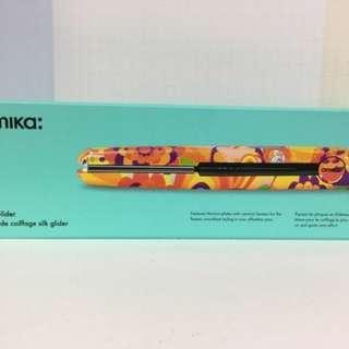Amika titanium 橙花花鈦合金直髮夾大夾Regular Size不設議價 鈦金屬直髮夾