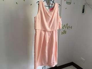Nursing Empire Maternity Dress