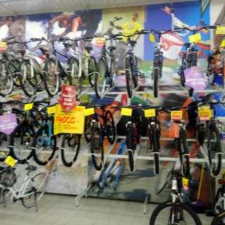 Beebagai macam sepeda bisa di cicil cukup bayar 199.000