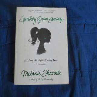 Sparkly Green Earrings by Melanie Shankle