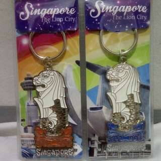 Singapore Merlion KEYCHAIN
