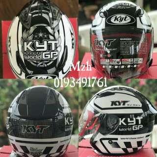 KYT helmet LIMITED Edition