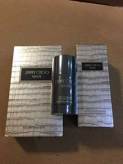 Bought for RM540.00 whole set 💯 Authentic Original Jimmy Choo Man Perfume Sell at loss!