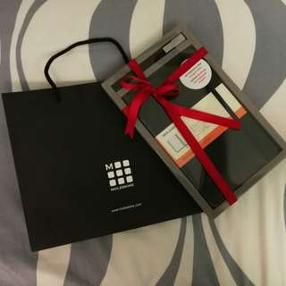 Moleskine Notebook & Pen gift set