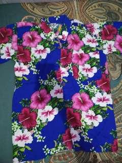 Kemeja Bali Floral Bunga