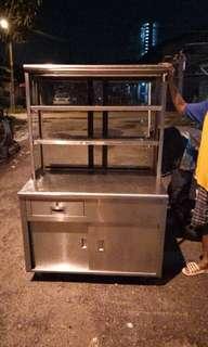 Stall burger,Stall air,dapur masak stainless steel nak letgo murah murah 5 items