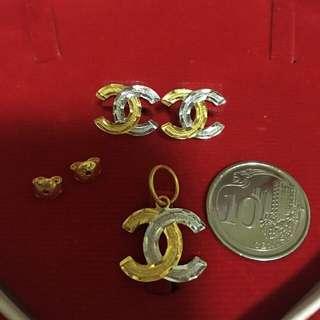 916 Gold CC Set