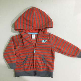 Baby Jacket with Hoodie