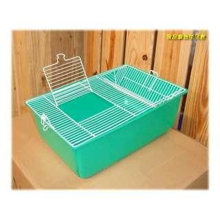 ==臻品寵物生活館==已到貨!藍綠色幼鳥/寵物鼠飼育箱.老鼠繁殖籠.鼠籠.可重疊.節省空間!!6100806A.