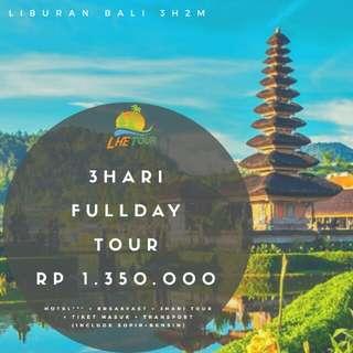 Liburan Bali 3Hari2Malam, Fullday tour 3Hari.