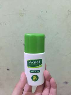 Acnes sunscreen