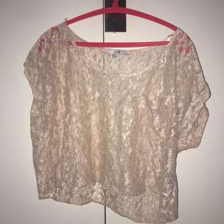 Lace Top forever 21