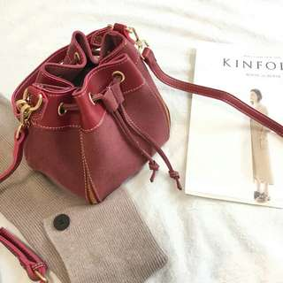 Wine Red Purse