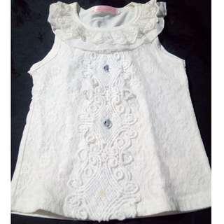 White lacy blouse