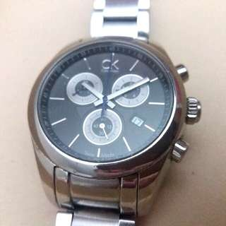 CALVIN KLEIN Swiss Made Chronograph Wrist Watch
