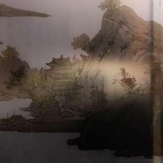 老木窗 彩繪玻璃