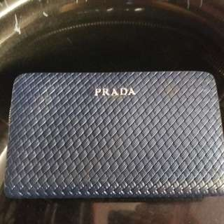 PRADA Long Vallet with Double Zip High Quality 1:1