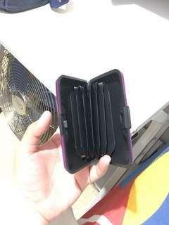 Anti thief card case