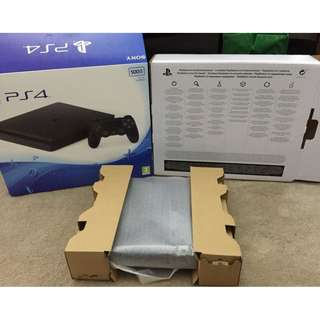 Play Station 4 pro 1TB ( Latest Model) + 10 GAMES & 2 controllers