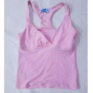 Pastel Pink Baby Pink Sando Tank Sleeveless Top