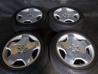 W221 S600 18 鋁鎂鍛造輕量化鋁圈 W124 W140 W220 W221 W210 W211 W203 W204 W208 W209