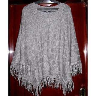 Ozoc Wool Poncho