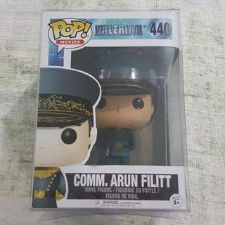 Legit Brand New With Box Funko Pop Movies Valerian Nad The City Of A Thousand Planets Comm. Arun Filitt Toy Figure