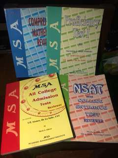 MSA books reviewers