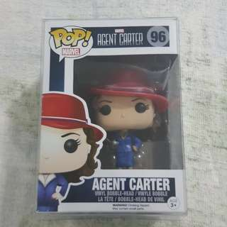 Legit Brand New With Box Funko Pop Marvel Agent Carter Toy Figure