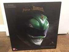 Bandai legacy green ranger helmet