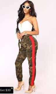 Fashion Nova Camo Pants