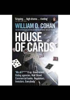 Pre-owned, good condition 'House of Cards, William D. Cohan': $1.99 only !