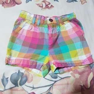 Cherokee baby shorts