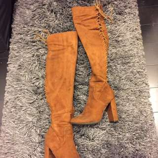 *REDUCED PRICE* Thigh High Boots
