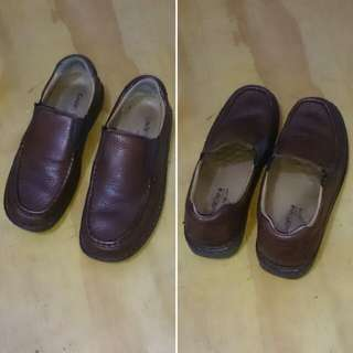 Caserini Italy Classic Leather Shoes Original
