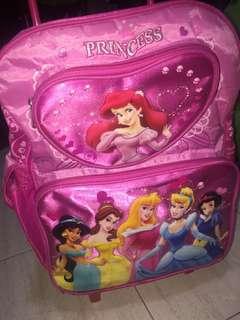Princess girl luggage