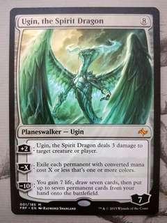 MTG Ugin, the Spirit Dragon