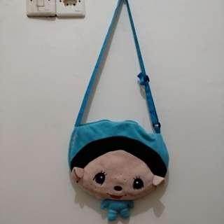 <preloved> tas boneka anak biru