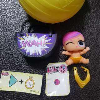 LOL surprise doll - Lil super baby