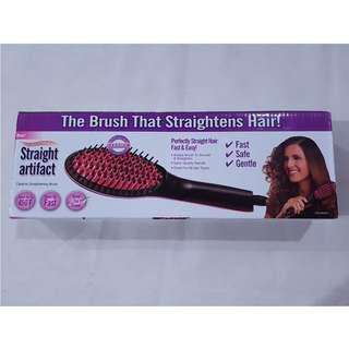 Straight Artifact Heat Brush Straightener