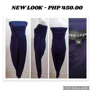 New Look Blue Jumpsuit