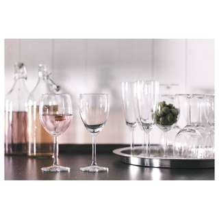 🆕Ikea® Svalka 18-Pieces Glasses