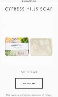 ANTO Yukon cypress hill soap