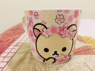 🚚 拉拉熊-櫻花馬克杯(黑人牙膏贈品)