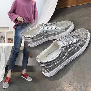 Glitter bling bling sports shoes / Sneakers