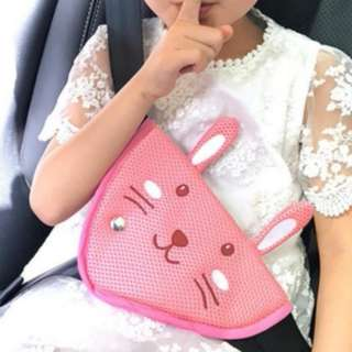 Seat Belt Adjuster Seatbelt Pad Soft Protective Positioner Easy Installation Safety Harness for Kids